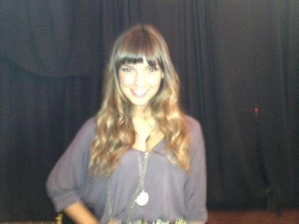 Denyse at the Hulu Upfront event. 4-30-13