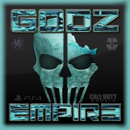 =GODZ EMPIR3= Ghosts Logo