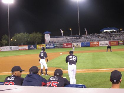 My friend and current Yankee's 3rd Base Coach Rob Thomson