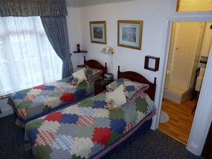 Twin Bedroom at Rosamaly guesthouse Hunstanton
