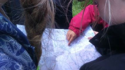 Our members have been busy learning how to read maps over the half term break
