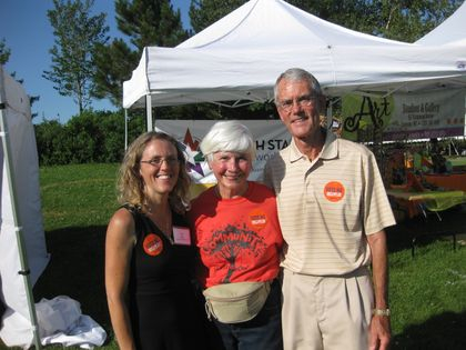 Spent the whole day at the Birth 2012 booth with Stephen Dinan's (founder of the Shift Network) parents- Bill and Connie. What great people!