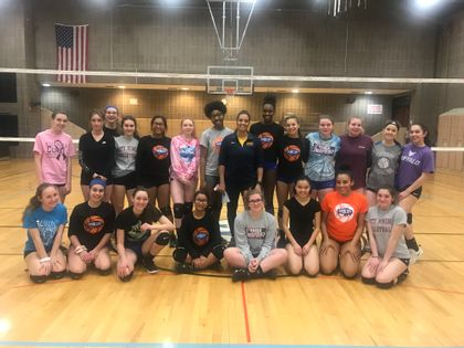 Volleyball Basics Clinic with Lenika Vazquez (Canisius College)