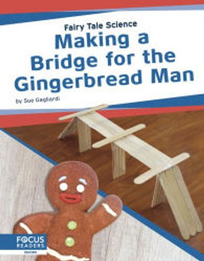 Design a bridge for the Gingerbread Man!