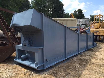 "Used Greystone 44"" x 20' Coarse Material Washer/Screw For Sale"