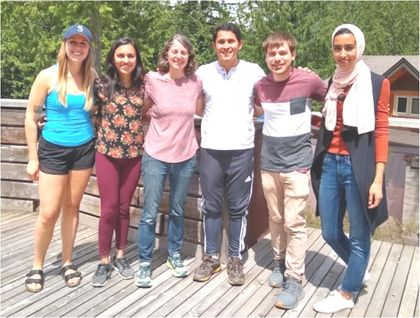 Van Raamsdonk Lab at the Molecular Genetics Wing retreat - June 2019