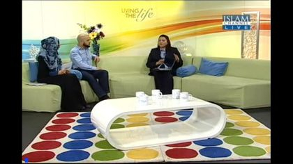 As TV Guest,Living the Life, Islam Channel London