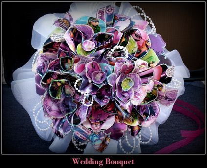Star Sapphire Bridal Bouquet