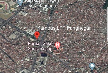 Gambar Peta Lokasi LPT Panghegar