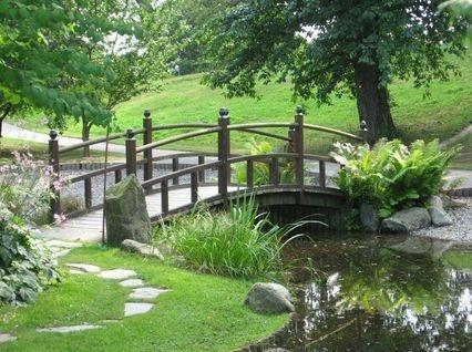 Feng Shui Garden scene