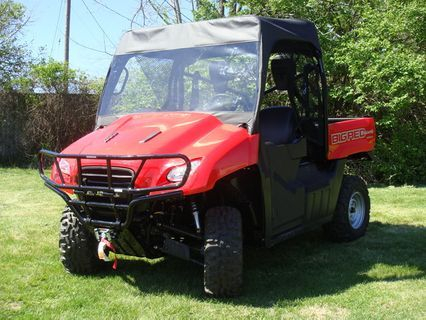 Pacific Eagle Utv Enclosures Honda Vinyl W S Top