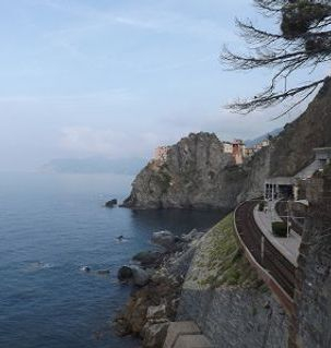 "ours.jpg alt=womens travel, view from the trail between riomaggiori and manarola, cinque terre, italy"">"