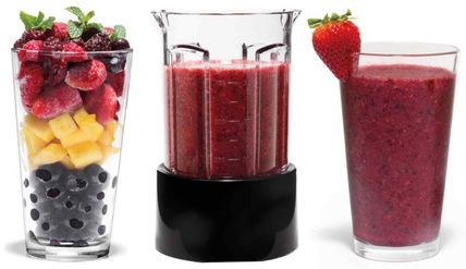 fresh berry smoothies