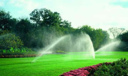 Lawn irrigation systems repaired