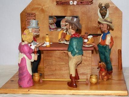 Open - Pecos Saloon by Brian Greenwood