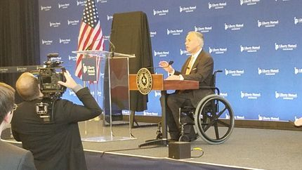 Liberty Mutual with Governor Abbott
