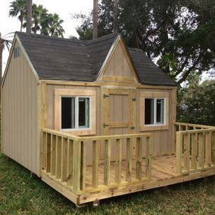 Playhouses are also built with extra care!