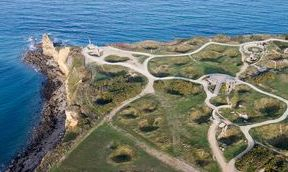 Pointe du Hoc and Ranger Memorial, Normandy