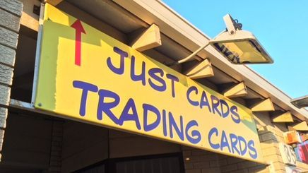 Just Cards Sign