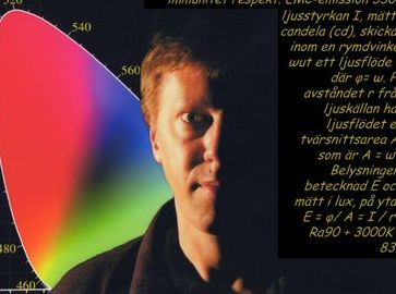 Conny Åhs föreläsare ljusdesigner ljussättare lightdesigner