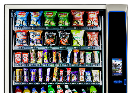 Merchant Media snack machine