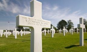 Headstone, Normandy American Cemetery and Memorial