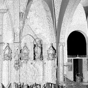 Interior Scanner of church