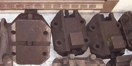 "7"" x 11.375"" or 177.8mm x 289mm Vertical Boring Mill Jaws Set of 3"