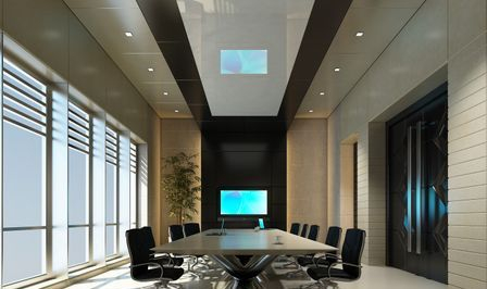 Office modern meeting room