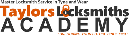 Locksmith training in Gateshead logo Taylors Locksmiths, Gateshead Locksmith Service