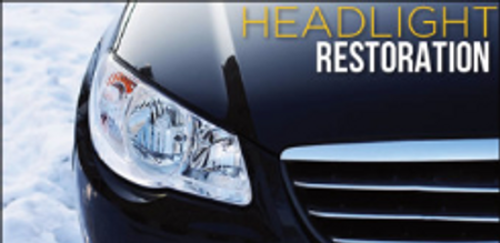 Headlight Restoration flyer