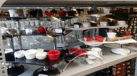 buffet set up items