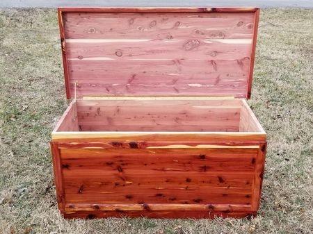 "Red Cedar Chest 24""x 24""x 50"""