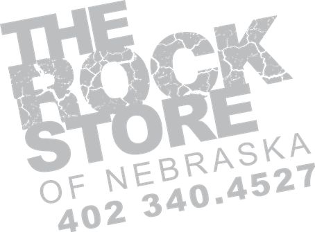 THE ROCK STORE OF NEBRASKA LOGO