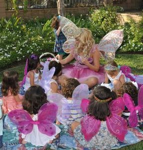 cute kids party ideas fairy princess pink