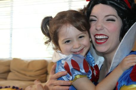 los angeles princess snow white company character best hug cute