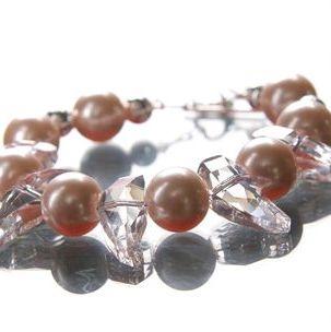 Freshwater Pearls & Swarovski Crystals