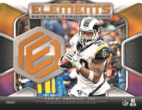 2019 Panini Elements NFL Football Hobby