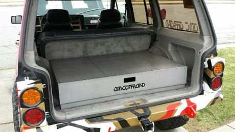 our cargo drawer system for XJ's