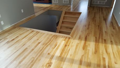 NATURAL MAPLE FLOORING