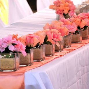 Local Wedding floral arrangements