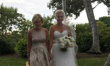 Mother and Daughter before vows