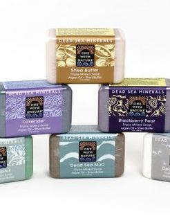 Set Of 6 Dead Sea Minerals Soap     Get a set of 6 of the Dead Sea Mineral Soaps. You are getting 6 soaps for the price of 5. More than 1300 feet below sea level, the shores of the Dead Sea mark the world's lowest elevation and the sight of one of nature's greatest wonders