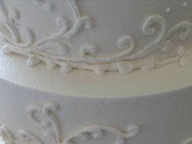 Beautiful Custom Wedding Cake