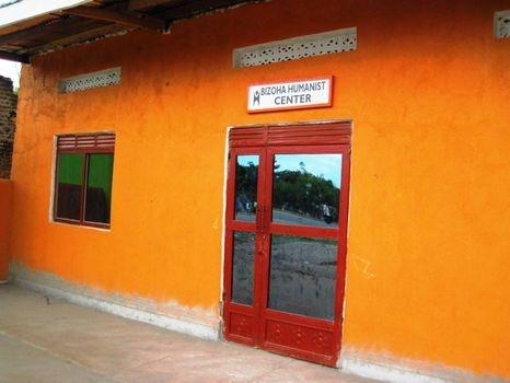 Bizoha Hostel entrance
