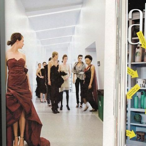 Cincinnati Magazine featuring collection by fashion designer Amy Marie Goetz of the University of Cincinnati Design Architecture Art and Planning Program