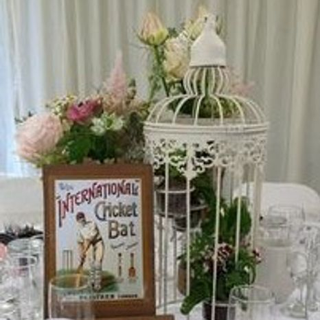 Birdcage wedding accessories FLEUR Adamo