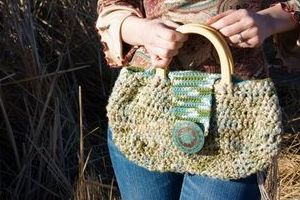 Hemp twine and Cotton yarn Blended Purse