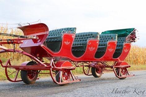 red bob santa sleigh bethlehem pennsylvania