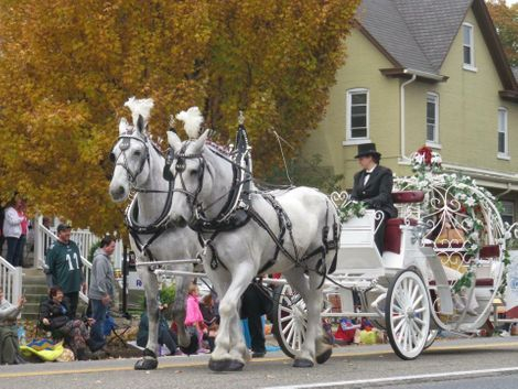 Princess carriage rides, Parades